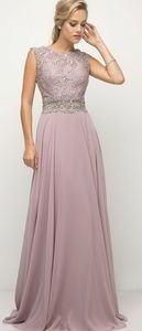 Mother of the bride formal party evening dress